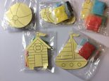 Beach Themed Sand Art Magnet Kits